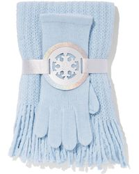 New York & Company - 2-piece Honeycomb Scarf & Gloves Set - Lyst