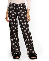 New York & Company - Bow-print Pajamas - Lyst