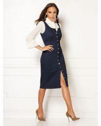 New York & Company - Norah Denim Sheath Dress - Eva Mendes Collection - Lyst