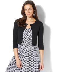 New York & Company - 7th Avenue - Jewel-accent Dress Cardigan - Lyst