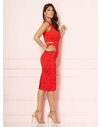 New York & Company - Eva Mendes Collection - Graziela Cutout Sheath Dress - Lyst