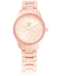 New York & Company - Pave Chronograph Watch - Lyst