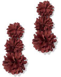 New York & Company - Pom-pom Drop Earring - Lyst