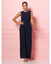 795a0016e55f New York & Company - Alexia Jumpsuit - Eva Mendes Party Collection - Lyst