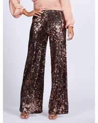 New York & Company - Gabrielle Union Collection - Sequin Palazzo Pant - Lyst