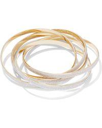 New York & Company - Rolling Bangle Bracelet - Lyst