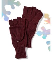 New York & Company - Convertible Knit Gloves/mittens - Lyst