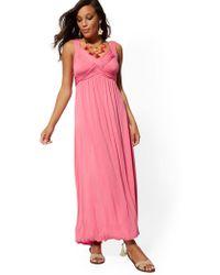 5bcaac6d4027 New York   Company - Goddess Maxi Dress - Soho Street - Lyst