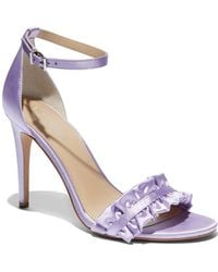 New York & Company - Eva Mendes Collection - Ruffled Ankle-strap Sandal - Lyst