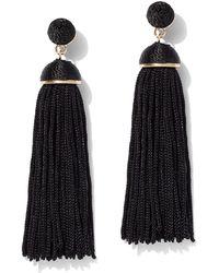 New York & Company - Tassel Drop Earring - Lyst