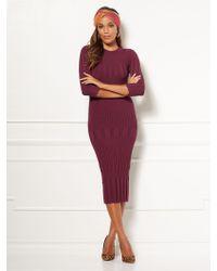 New York & Company - Eva Mendes Collection - Dasha Sweater Dress - Lyst