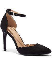 New York & Company - Scalloped Ankle-strap Pump - Lyst