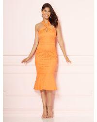 New York & Company - Eva Mendes Collection - Maria Halter Sheath Dress - Lyst