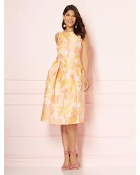 New York & Company - Eva Mendes Collection - Felicity Jacquard Dress - Lyst