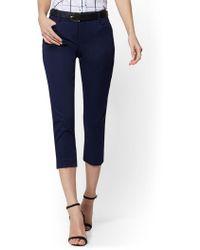 b37962827e10 Banana Republic Factory Stripe Culotte Pant in Blue - Lyst