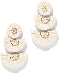 New York & Company - Seed Bead Drop Earring - Lyst
