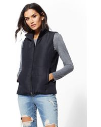 New York & Company - Zip-front Puffer Vest - Lyst
