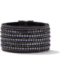 New York & Company - Beaded Cuff Bracelet - Lyst