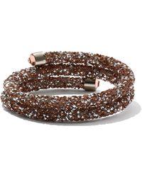 New York & Company - Crystalline Wrap-around Cuff Bracelet - Lyst