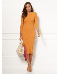 New York & Company - Eva Mendes Collection - Tall Dasha Sweater Dress - Lyst