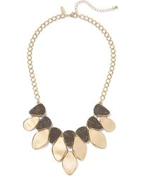 New York & Company - Goldtone Statement Necklace - Lyst