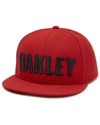 33ea8018b26 Lyst - Oakley Chips Wool Hat in Black for Men