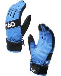 Oakley - Electric Blue Factory Winter Glove 2 - Lyst