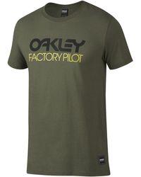 Oakley - Factory Pilot Logo Tee - Lyst