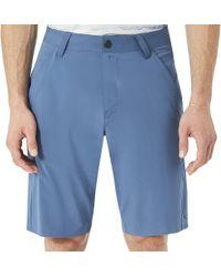 98b53d7bf6 Lyst - Oakley Velocity Golf Shorts in Blue for Men