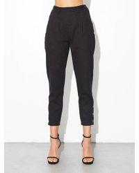 OAK - Side Zip Baggy Jean - Black - Lyst
