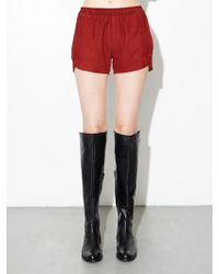 OAK - La Suede Reed Short - Burnt Orange - Lyst