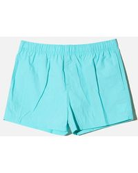 OAK - Cropped Swim Short - Sea - Lyst