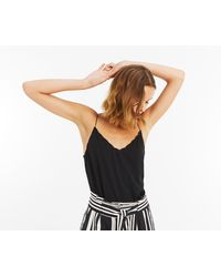 Oasis - Scallop Cami - Lyst