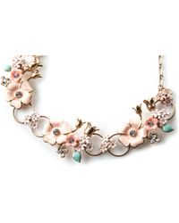 Oasis - Flower Necklace - Lyst