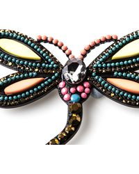 Oasis - Dragonfly Brooch - Lyst