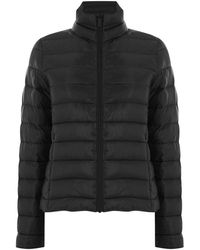 Oasis Packaway Puffer Coat - Black