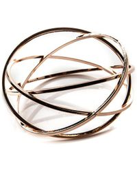 Oasis - Criss Cross Bangle - Lyst