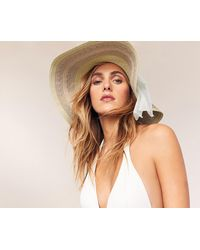 Oasis - Floppy Hat With Bow - Lyst
