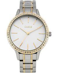 Oasis - Steel Bracelet Watch - Lyst