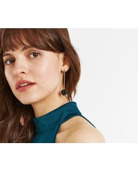 Oasis - Beaded Orb Earrings - Lyst