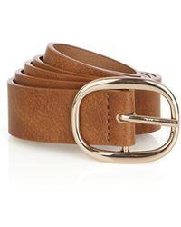 Oasis - Core Buckle Belt - Lyst
