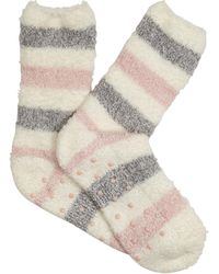 Oasis - Star Cosy Sock - Mid Pink - Lyst