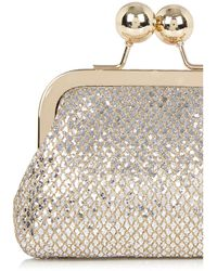 Oasis - Coin Purse - Multi Silver - Lyst