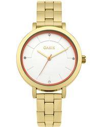 Oasis - Stainless Steel Bracelet Watch - Lyst