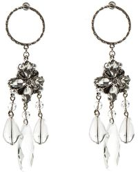 Oasis - Clear Resin Earrings - Lyst