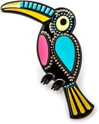 Oasis - Jewelled Toucan Brooch - Lyst