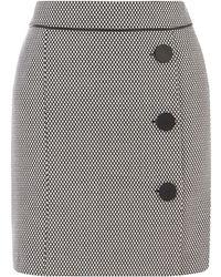 8c3876791044 Oasis Marley Zigzag Mini Skirt - Lyst