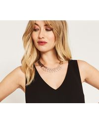 Oasis - Track Necklace - Lyst