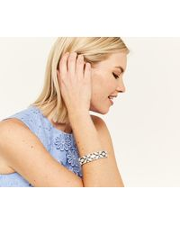 Oasis - Rhodium Opal Bracelet - Lyst