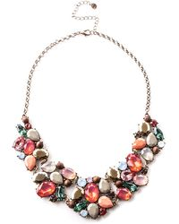 Oasis - Coloured Stone Necklace - Lyst